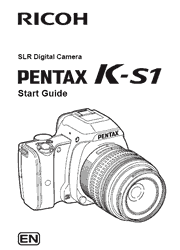 The cover of Pentax K-S1 Digital Camera Start Guide