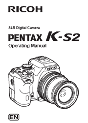The cover of Pentax K-S2 Digital Camera Operating Manual