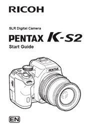 The cover of Pentax K-S2 Digital Camera Start Guide