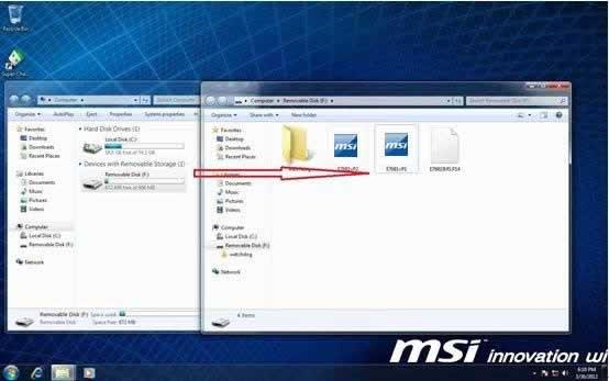 Updating BIOS for MSI Motherboard of AMD Series