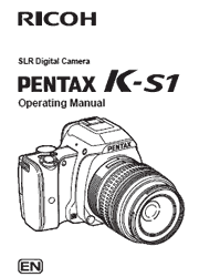 The cover of Pentax K-S1 Digital Camera Operating Manual